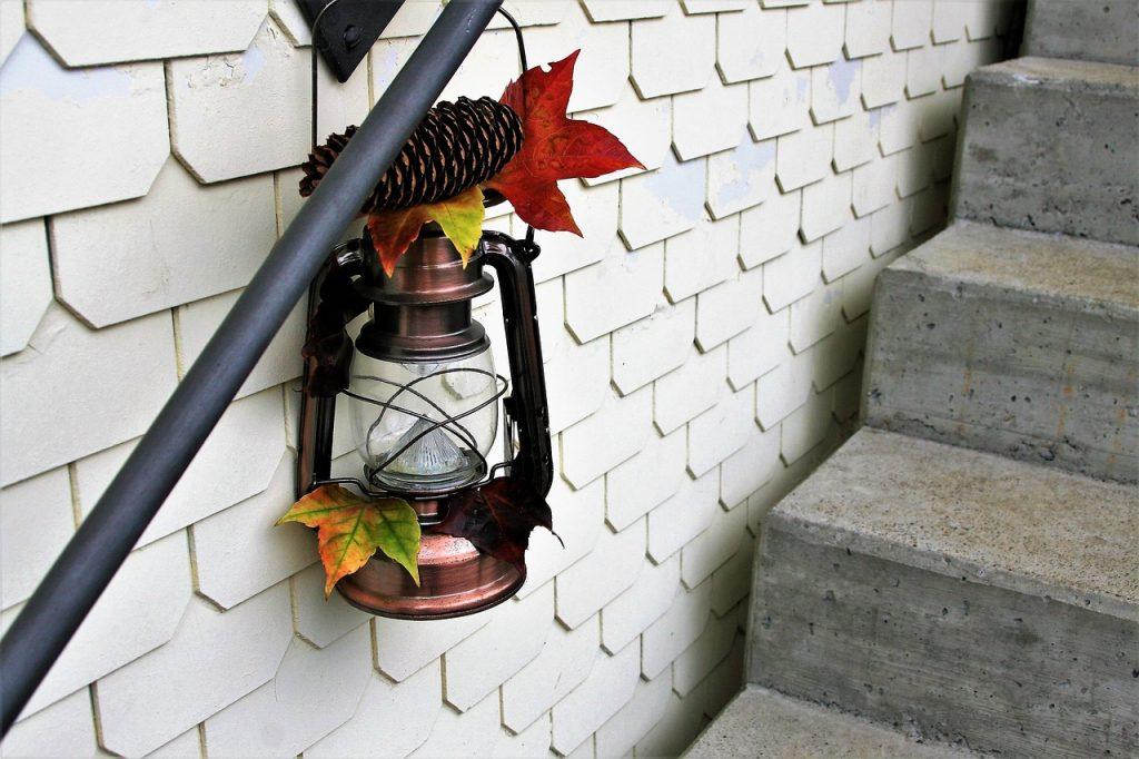 rustykalna lampa